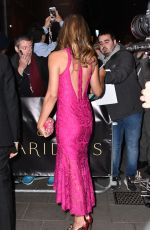 ELIZABETH HURLEY at Harper's Bazaar Women of the Year Awards in London 10/31/2016