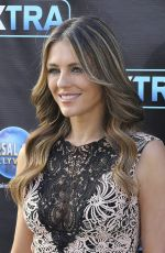 ELIZABETH HURLEY on the Set of Extra at Universal Studio in Hollywood 11/17/2016