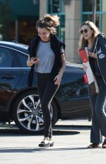 ELIZABETH OLSEN Out and About in Los Angeles 11/24/2016