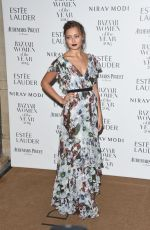 ELLA PURNELL at Harper's Bazaar Women of the Year Awards in London 10/31/2016