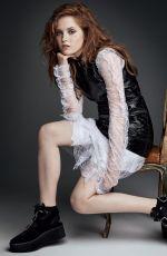 ELLIE BAMBER in Vogue Magazine, December 2016 Issue