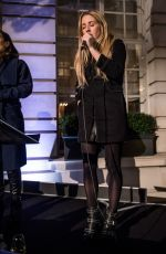 ELLIE GOULDING at Festive Season Celebration at Rosewood in London 11/24/2016