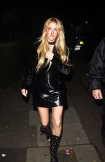 ELLIE GOULDING at Jonathan Ross Halloween Party 10/31/2016