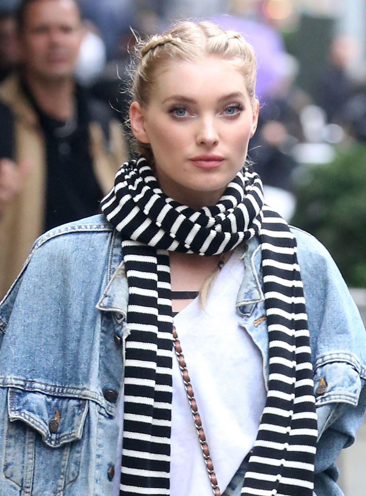 ELSA HOSK Arrives to Flex Studios in New York 11/09/2016