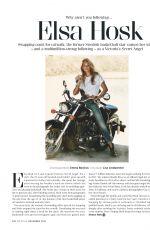 ELSA HOSK in GQ Magazine, UK December 2016