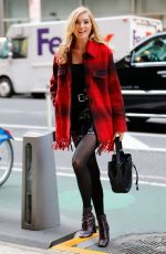 ELSA HOSK Out and About in New York 11/01/2016