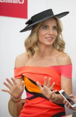 ELSA PATAKY at Emirates Marquee at Melbourne Cup Day 11/01/2016