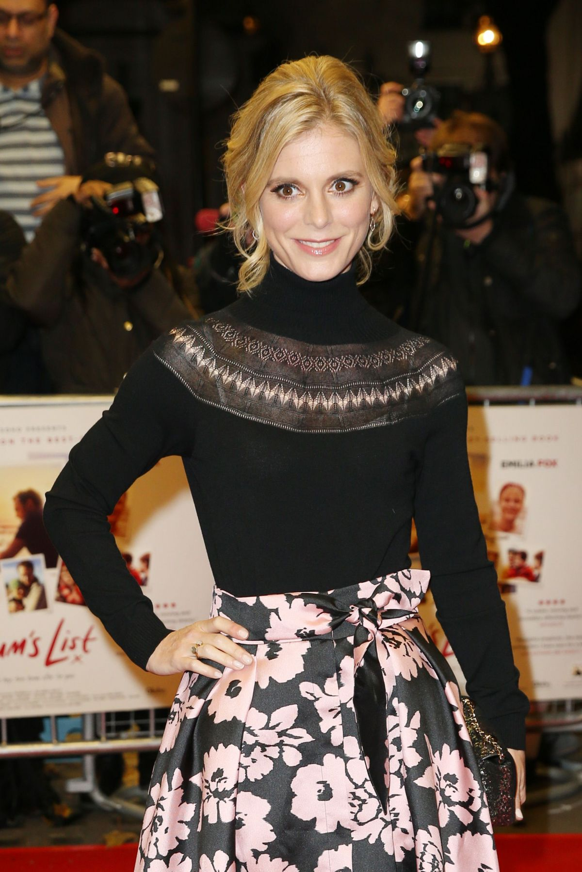 EMILIA FOX at Mum's List Premiere in London 11/23/2016