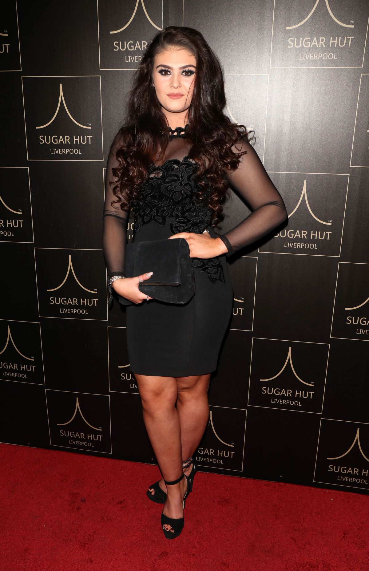 EMILY CUNLIFFE at Sugar Hut Liverpool Launch Night 11/23/2016