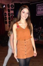 EMILY MIDDLEMAS Arrives to a Private Gig in London 11/11/2016