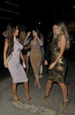 EMILY SEARS and SARAH STAGE at Bootsy Bellows in West Hollywood 11/12/2016