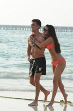 EMMA MCVEY in Bikini on the Beach in Dubai 11/01/2016