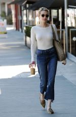 EMMA ROBERTS in Jeans Out and About in Los Angeles 11/14/2016