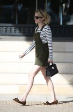 EMMA ROBERTS Out and About in Los Angeles 11/07/2016