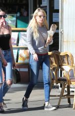 EMMA ROBERTS Out Shopping in Los Feliz 11/13/2016