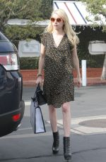 EMMA ROBERTS Out Shopping in West Hollywood 11/16/2016