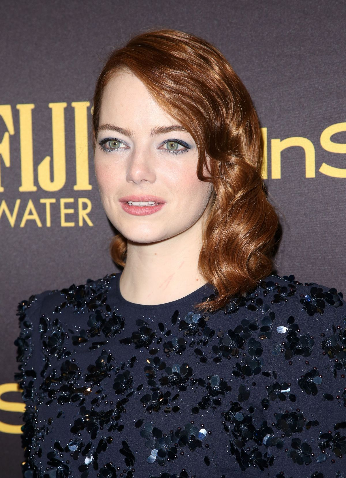 EMMA STONE at HFPA & Instyle