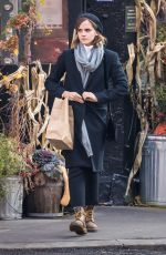 EMMA WATSON Out Shopping in New York 11/28/2016