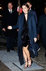 EMMA WATSON Arrives at Museum of Modern Art in New York 11/15/2016