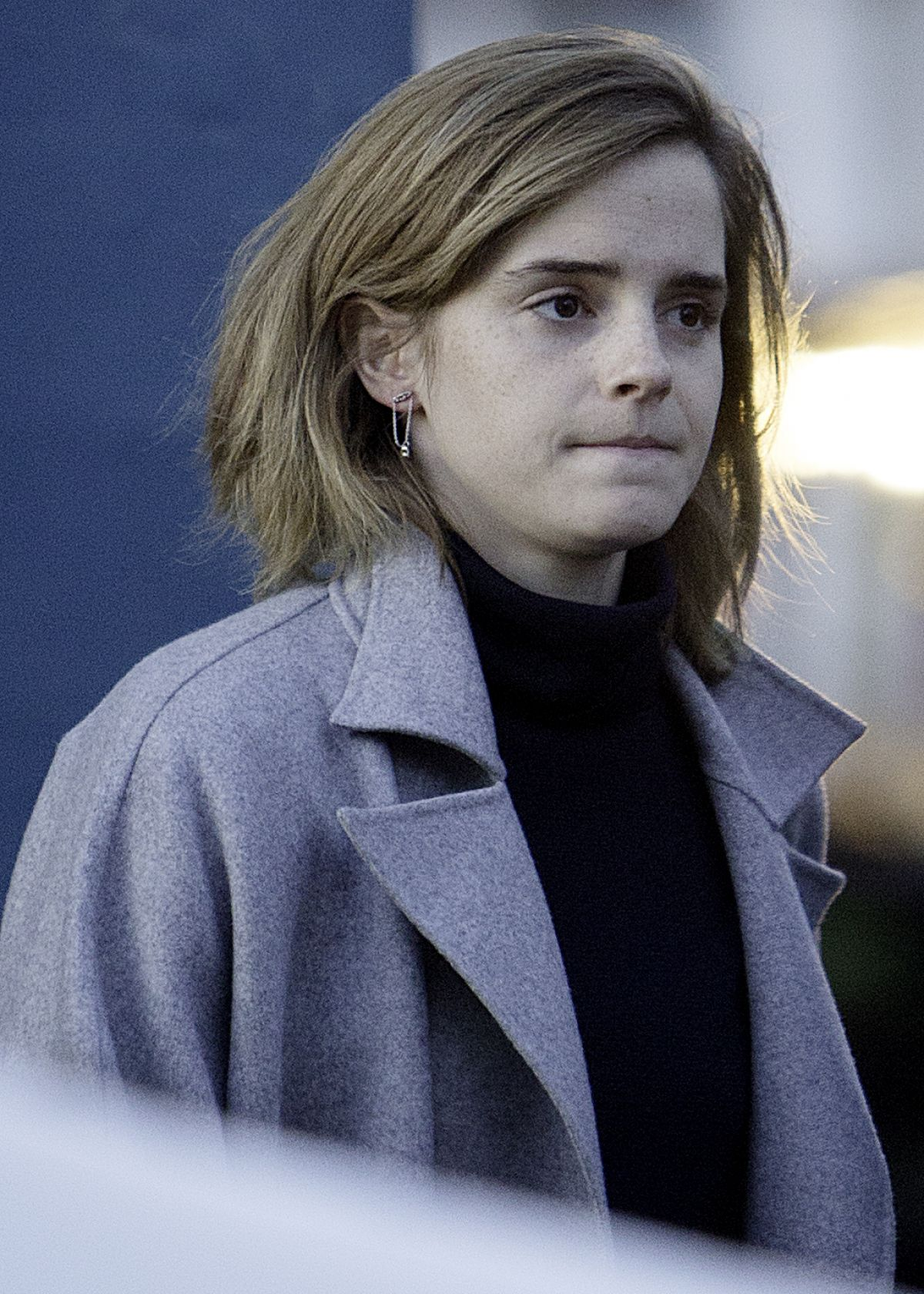 EMMA WATSON Out and About in London 11/02/2016