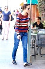 EMMY ROSSUM in Jeans Out in Beverly Hills 11/11/2016