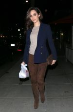 EMMY ROSSUM Night Out in Beverly Hills 11/09/2016