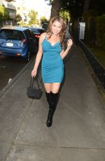 ERIKA JORDAN Out and About in Hollywood 11/27/2016