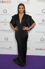 EVA LONGORIA at Global Gift Gala in London 11/19/2016