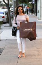 EVA LONGORIA Out Shopping in Beverly Hills 11/14/2016