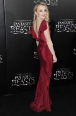 EVANNA LYNCH at 'Fantastic Beast and Where to Find Them' Photocall in New York 11/06/2016