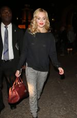 FEARNE COTTON Leaves the Royal Albert Hall in London 11/02/2016