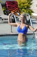 FRANKIE ESSEX in Bikini at a Beach in Mykonos 11/07/2016