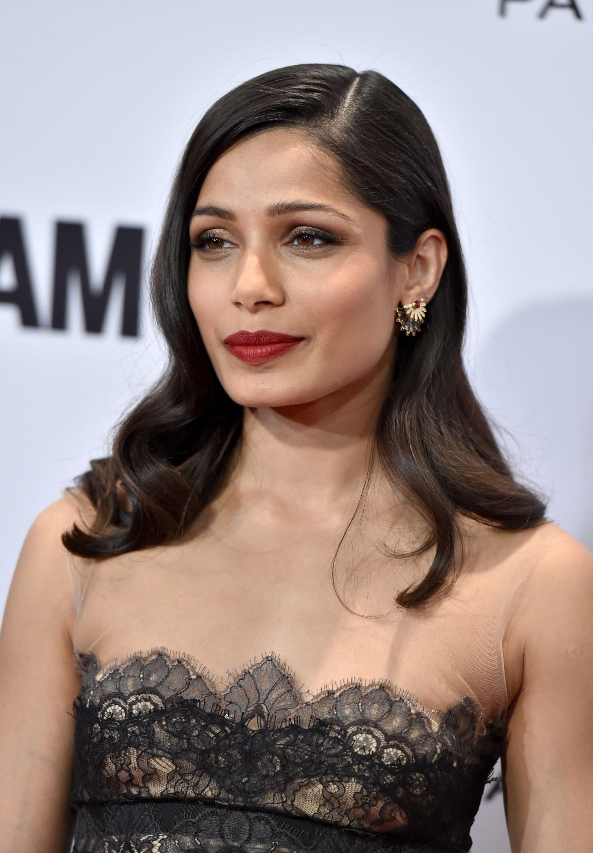 FREIDA PINTO at Glamour Women of the Year Awards in Los Angeles 11/14 ...