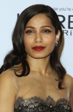FREIDA PINTO at Glamour Women of the Year Awards in Los Angeles 11/14/2016