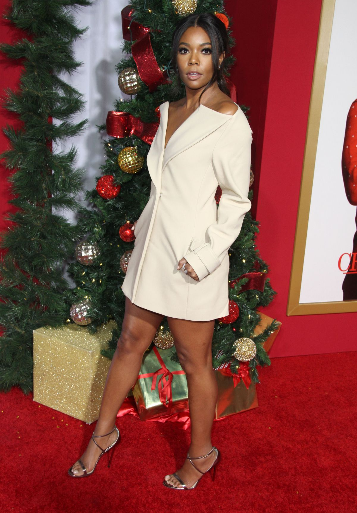 Almost Christmas Gabrielle Union.Gabrielle Union At Almost Christmas Premiere In Westwood