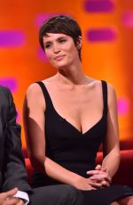 GEMMA ARTERTON at Graham Norton Show in London 11/23/2016
