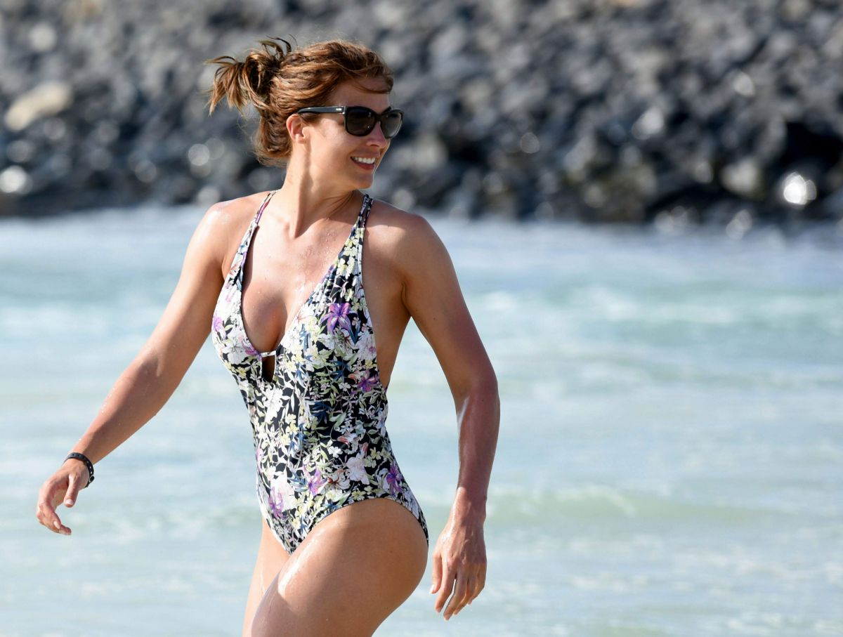 GEMMA ATKINSON in Swimsuit at a Beach in Cape Verde 11/18/2016