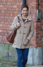 GEMMA ATKINSON Leaves Key 103 Radio Station in Manchester 11/11/2016