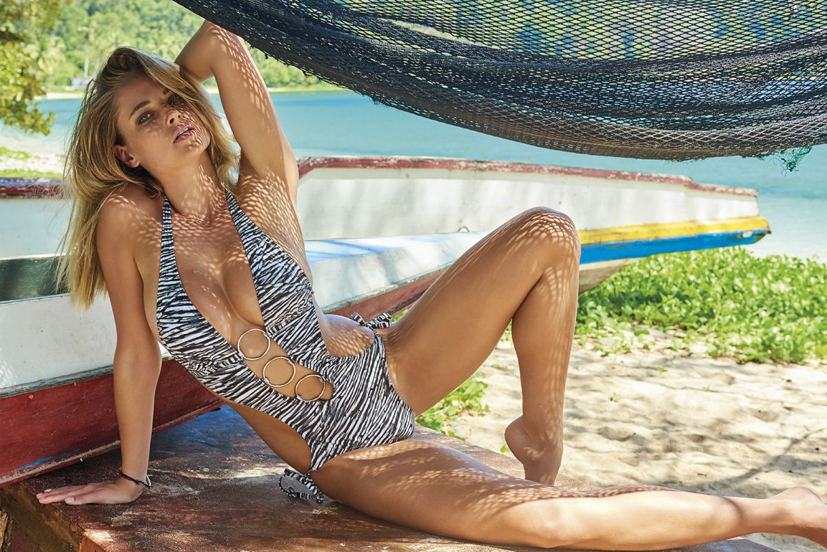 GENEVIEVE MORTON by Jacques Weyers for World Swimsuit 2016