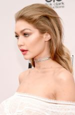 GIGI HADID at 2016 American Music Awards at The Microsoft Theater in Los Angeles 11/20/2016