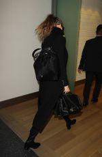 GIGI HADID at JFK Airport in New York 11/12/2016