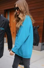 GIGI HADID Leaves Her Apartment in New York 11/02/2016