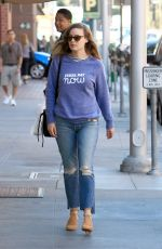 GILLIAN JACOBS Out and About in Beverly Hills 11/03/2016