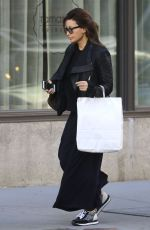 GINA GERSHON Out and About in New York 11/07/2016