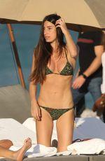 GIORGIA GABRIELE in Bikini at a Beach in Miami 11/23/2016