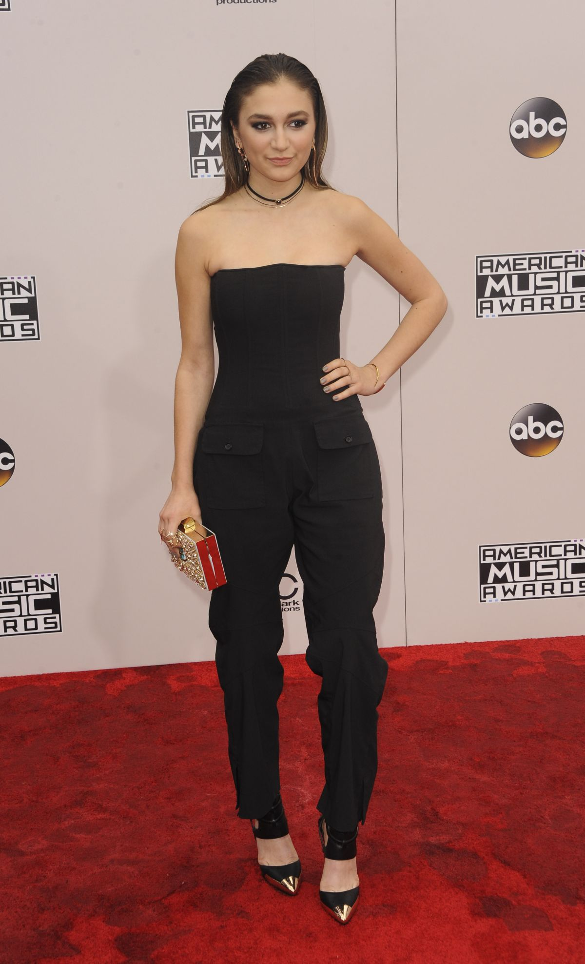 GRACE TANDON at 2016 American Music Awards at The Microsoft Theater in Los Angeles 11/20/2016