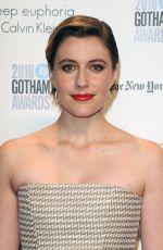 GRETA GERWIG at 2016 IFP Gotham Independent Film Awards in New York 11/28/2016
