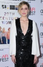 GRETA GERWIG at 20th Century Women Gala Screening in Hollywood 11/16/2016