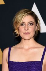 GRETA GERWIG at AMPAS' 8th Annual Governors Awards in Hollywood 11/12/2016