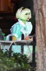 GWEN STEFANI at a Halloween Party in Los Angeles 10/31/2016